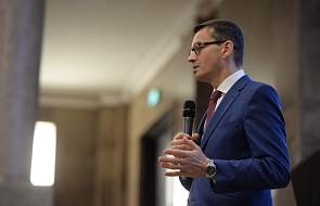 Morawiecki: pieniądze z eliminacji torebek foliowych na poprawę jakości powietrza