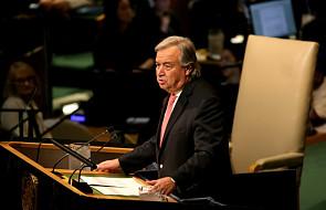 Sekretarz generalny ONZ apeluje o dojrzałość polityczną wobec Korei Płn. i ws. uchodźców