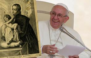 Papież wskazał Polakom św. Stanisława Kostkę jako wzór podążania za głosem powołania