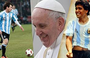 Papież wyprzedził Maradonę i Messiego