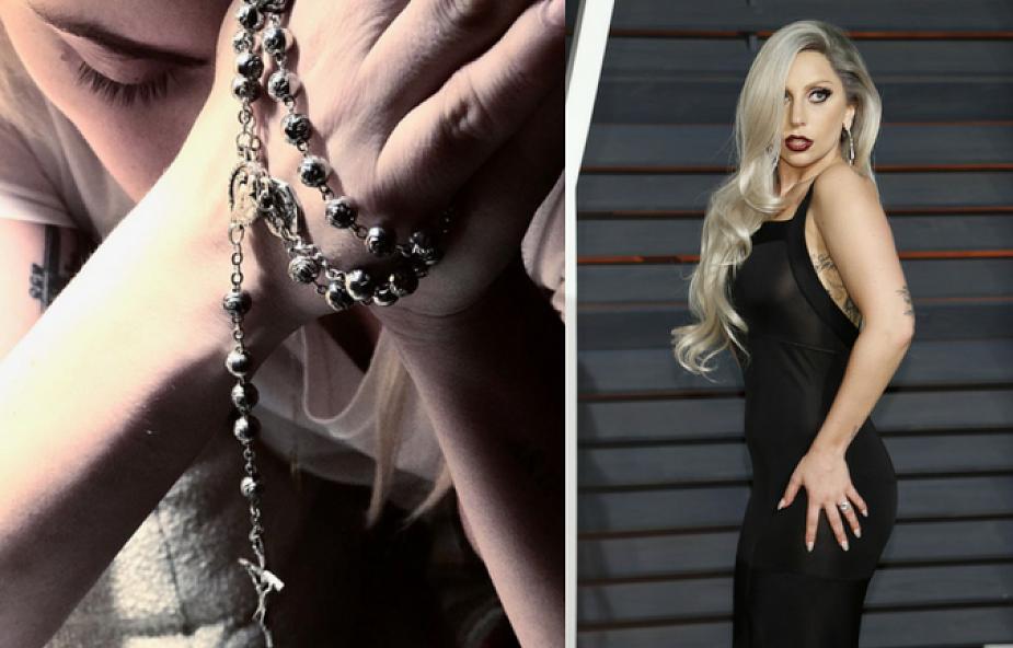 """Lady Gaga o modlitwie na różańcu i o swojej """"walce psychicznej"""""""
