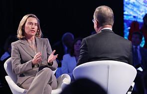 Mogherini: pomimo krytyki USA nie ma potrzeby renegocjowania porozumienia z Iranem