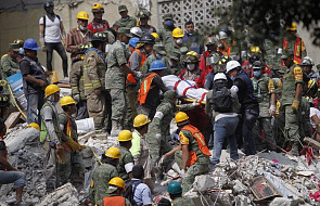 Trzęsienie ziemi w Meksyku: spadający dach kościoła zabił w trakcie chrztu dziewczynkę i jej rodziców chrzestnych