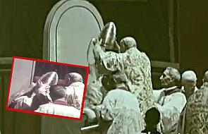 Był ostatnim papieżem, który pozwolił się koronować. Zobacz niezwykły film z tego wydarzenia