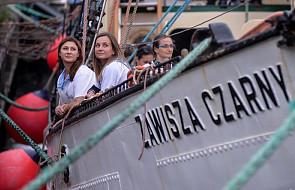 """Gdynia: żaglowiec """"Zawisza Czarny"""" wypłynął w Onkorejs do Szwecji"""