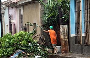 Irma szaleje nad środkową Kubą