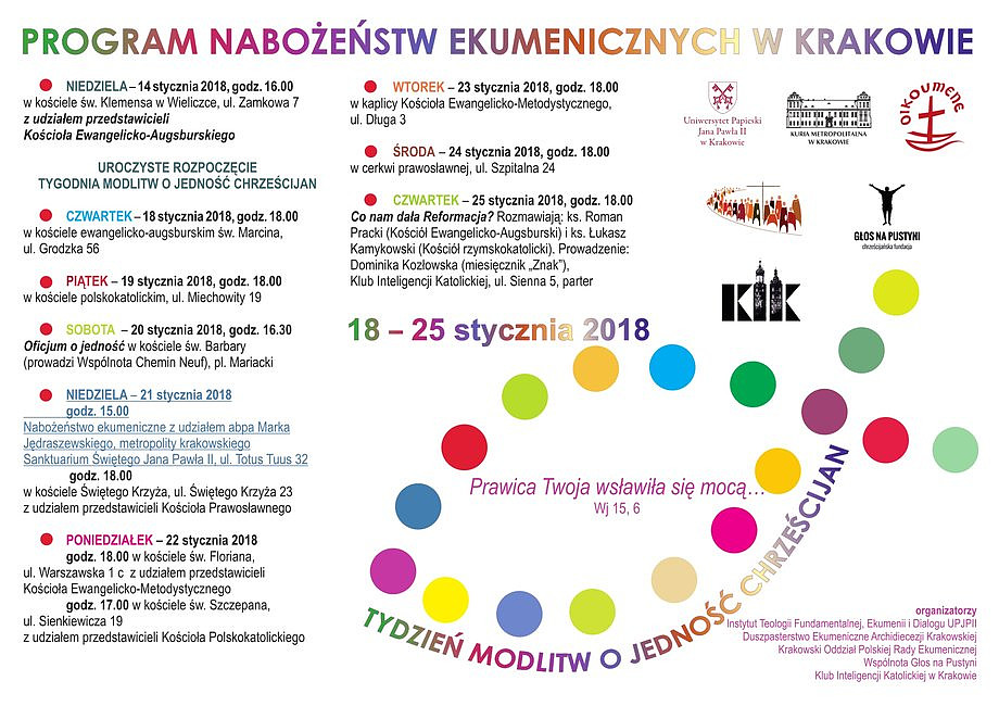Archidiecezja krakowska: obchody Dnia Judaizmu oraz Tygodnia Ekumenicznego w Kościele Katolickim - zdjęcie w treści artykułu