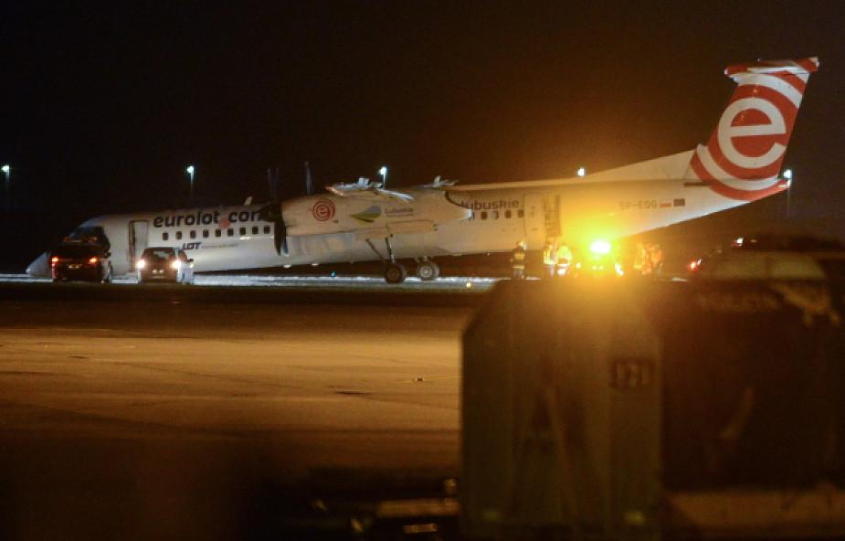 Samolot, który awaryjnie lądował, został odholowany z pasa startowego Lotniska Chopina