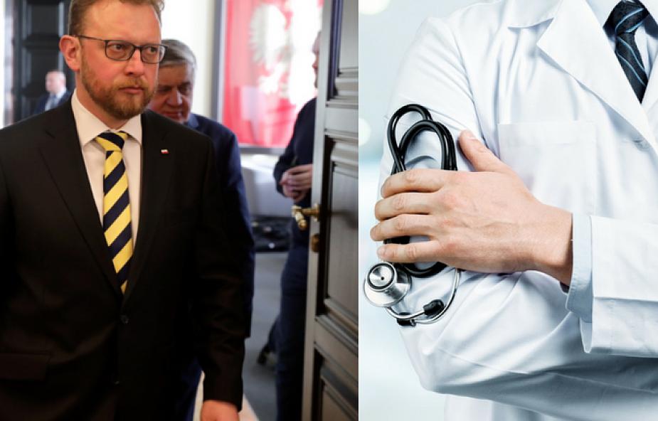 """Minister zdrowia prosi rezydentów o cierpliwość. """"Spotkanie z Wami jest dla mnie bardzo ważne"""""""