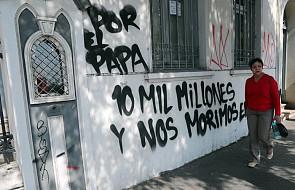"""Populiści z Andha Chile protestują w Santiago przeciwko """"wydawaniu milionów"""" na przyjazd papieża"""
