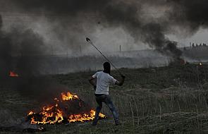Izraelskie lotnictwo zbombardowało tunel w Strefie Gazy