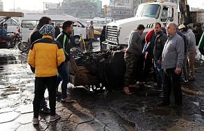 """""""Dwóch kamikadze wysadziło się w powietrze w centrum Bagdadu"""" - 38 osób nie żyje"""