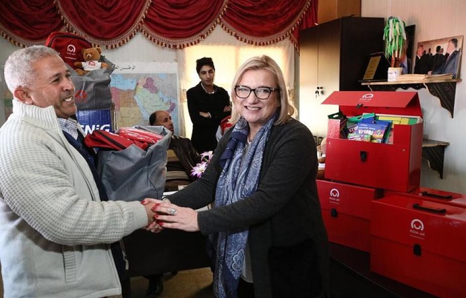 Beata Kempa chce większego finansowania pomocy humanitarnej dla syryjskich uchodźców