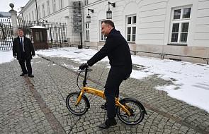 Prezydent Andrzej Duda: elektromobilność to skuteczna metoda walki ze smogiem