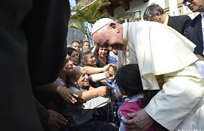 Lima: papież spotkał się z chorymi
