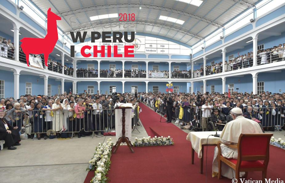 Franciszek wezwał Peruwiańczyków do krzewienia kultury miłosierdzia [DOKUMENTACJA]