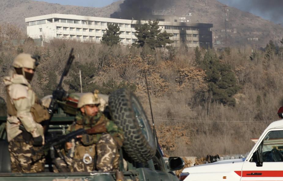 W zamachu na hotel w Kabulu zginęło sześciu Ukraińców