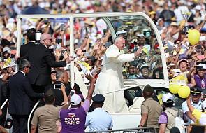 Papież Franciszek zakończył wizytę w Peru i wraca do Rzymu