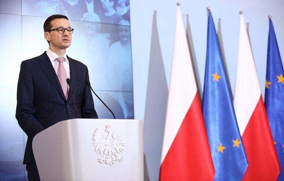 Premier Mateusz Morawiecki: w Davos chcę pokazać, że polski model gospodarczy działa