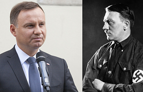 Prezydent: w Polsce nie ma miejsca na gloryfikowanie Hitlera. Musimy to tępić ze wszystkich sił