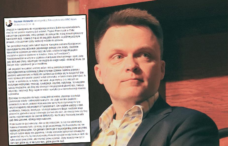 Szymon Hołownia: ta książka dla wielu będzie szokiem