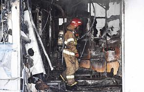 Korea Pd.: już 41 ofiar śmiertelnych pożaru w szpitalu. Dziesiątki rannych