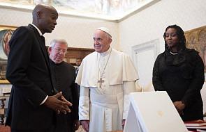 Papież Franciszek przyjął na audiencji prezydenta Haiti Jovenela Moïse