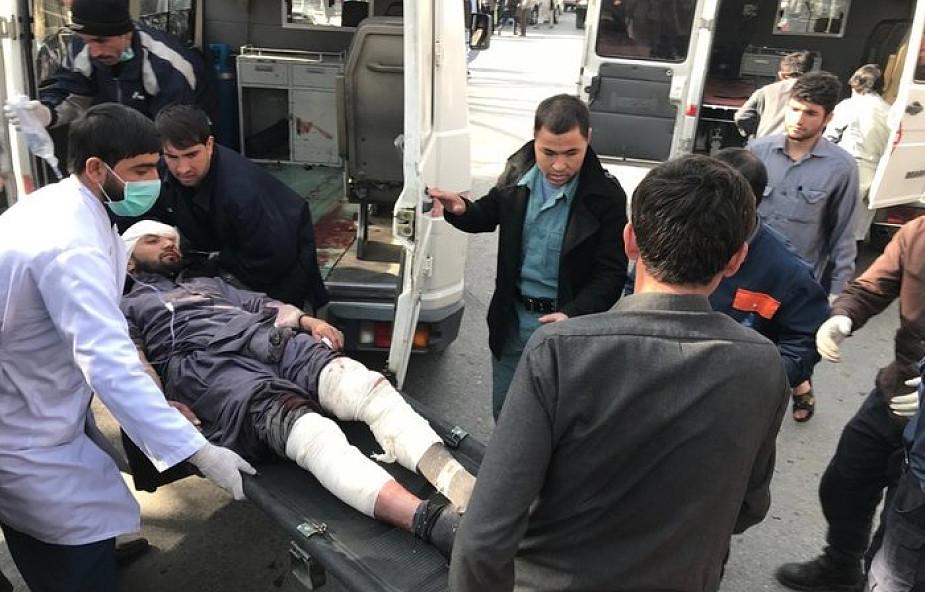 Afganistan: 40 zabitych, 140 odniosło obrażenia w potężnym wybuchu samochodu pułapki w Kabulu