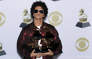"""Bruno Mars zdobył aż sześć """"muzycznych Oscarów"""". Najlepszy utwór roku to """"That's What I Like"""""""