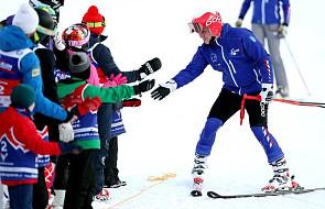 Prezydent Andrzej Duda wziął udział w narciarskich zawodach charytatywnych