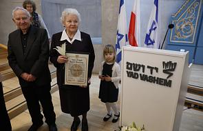 Izrael uczcił troje Polaków jako Sprawiedliwych Wśród Narodów Świata