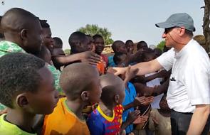 Polski biskup odwiedził dom dzieci ulicy w Republice Środkowoafrykańskiej