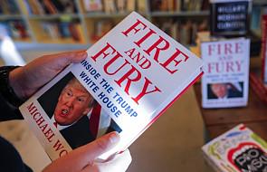 Trump odrzuca oskarżenia z książki na jego temat