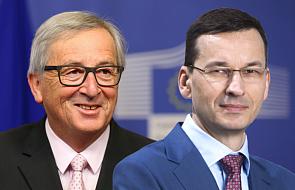 Premier Morawiecki spotka się we wtorek w Brukseli z szefem KE Jean-Claudem Junckerem