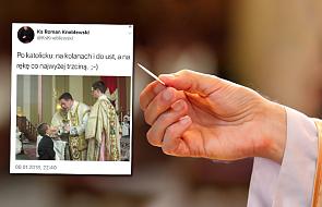 Ks. Kneblewski: Komunia św. po katolicku na kolanach i do ust. Jakie jest oficjalne nauczanie Kościoła?