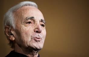 Zmarł Charles Aznavour - legenda francuskiej piosenki. Miał 94 lata