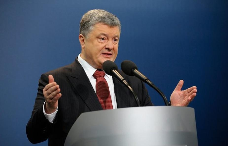 Poroszenko: Ukraina jako państwo uznaje wolność wyboru religijnego