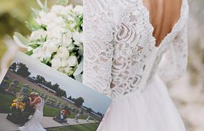 W dniu ślubu pożegnała narzeczonego. Te zdjęcia prawdziwie wzruszają
