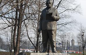 Po wiecu kandydata na prezydenta Katowic uszkodzony pomnik Ziętka