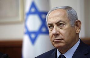 """Izrael: Netanjahu grozi Hamasowi w związku z protestami na granicy. """"To będzie bolesne, bardzo bolesne"""""""