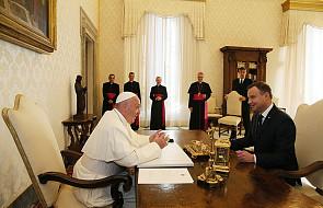 Watykan: rozpoczęła się audiencja prezydenta Dudy u papieża Franciszka