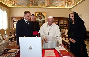 Pierwsza dama RP poprosiła papieża o modlitwę w intencji polskiej dziewczynki