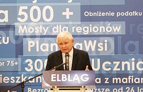 """Prezes PiS: obecny cykl wyborczy zdecyduje, czy w Polsce będzie kontynuowana """"dobra zmiana"""""""