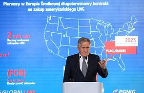 Amerykański gaz popłynie do Polski. Podpisano umowę z USA na 20 lat