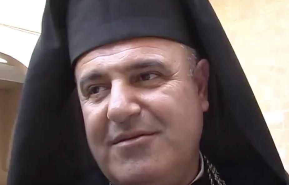 Abp Bacouni z Ziemi Świętej podczas synodu: biskup musi wrócić do bycia pasterzem