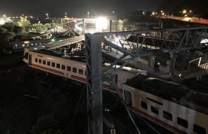 Tajwan: co najmniej 17 ofiar śmiertelnych katastrofy kolejowej