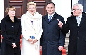 Prezydent Duda wraz z pierwszą damą rozpoczęli oficjalną wizytę w Niemczech