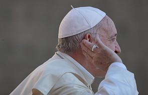 Papież Franciszek: wobec takiego pytania ja milknę
