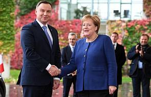 Duda rozmawiał z Merkel o reformie UE, Ukrainie, relacjach z USA i o klimacie. Na prośbę Merkel rozmowa odbyła się w cztery oczy
