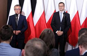 Premier Mateusz Morawiecki rozpoczął wizytę w Pradze